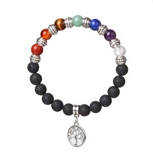 Jewelry - Natural Stone Beaded Bracelet